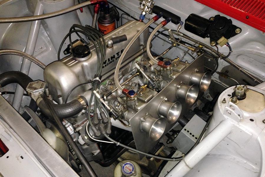 Don Morales 501 engine